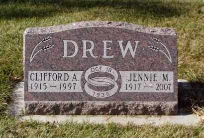 DREW, CLIFFORD A. - Minnehaha County, South Dakota | CLIFFORD A. DREW - South Dakota Gravestone Photos