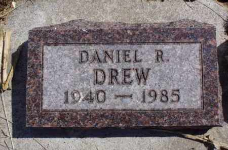 DREW, DANIEL R. - Minnehaha County, South Dakota | DANIEL R. DREW - South Dakota Gravestone Photos