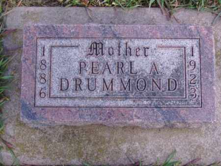 DRUMMOND, PEARL A. - Minnehaha County, South Dakota | PEARL A. DRUMMOND - South Dakota Gravestone Photos