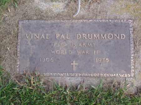 DRUMMOND, VINAL PAL - Minnehaha County, South Dakota   VINAL PAL DRUMMOND - South Dakota Gravestone Photos