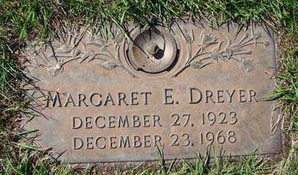 DREYER, MARGARET E. - Minnehaha County, South Dakota   MARGARET E. DREYER - South Dakota Gravestone Photos