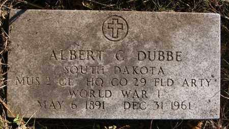 DUBBE, ALBERT C (WWI) - Minnehaha County, South Dakota | ALBERT C (WWI) DUBBE - South Dakota Gravestone Photos