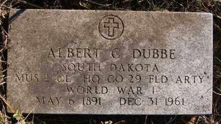 DUBBE, ALBERT C (WWI) - Minnehaha County, South Dakota | ALBERT C (WWI) DUBBE - South Dakota Gravestone Photos
