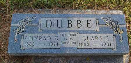 DUBBE, CLARA E. - Minnehaha County, South Dakota | CLARA E. DUBBE - South Dakota Gravestone Photos