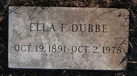 DUBBE, ELLA F - Minnehaha County, South Dakota | ELLA F DUBBE - South Dakota Gravestone Photos