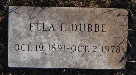 DUBBE, ELLA F - Minnehaha County, South Dakota   ELLA F DUBBE - South Dakota Gravestone Photos