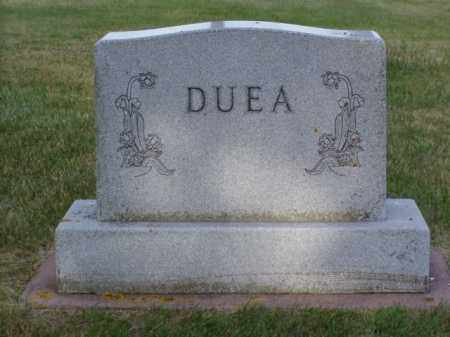 DUEA, JONAS - Minnehaha County, South Dakota | JONAS DUEA - South Dakota Gravestone Photos