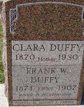 DUFFY, CLARA - Minnehaha County, South Dakota | CLARA DUFFY - South Dakota Gravestone Photos