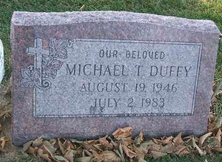 DUFFY, MICHAEL THOMAS - Minnehaha County, South Dakota | MICHAEL THOMAS DUFFY - South Dakota Gravestone Photos