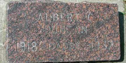 DUNCAN, ALBERT C. - Minnehaha County, South Dakota | ALBERT C. DUNCAN - South Dakota Gravestone Photos