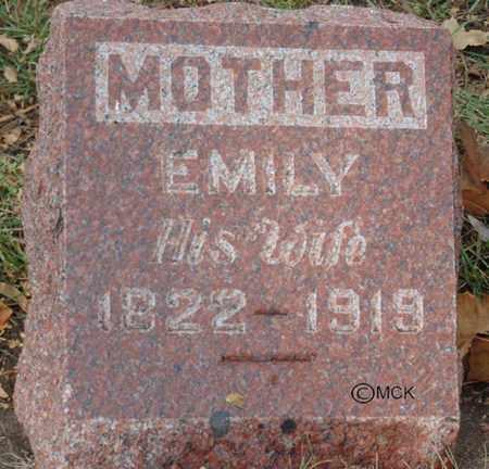 DUNHAM, EMILY - Minnehaha County, South Dakota | EMILY DUNHAM - South Dakota Gravestone Photos