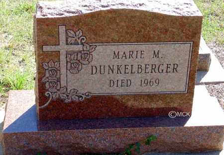DUNKELBERGER, MARIE M. - Minnehaha County, South Dakota | MARIE M. DUNKELBERGER - South Dakota Gravestone Photos