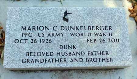 DUNKELBERGER, MARION C. - Minnehaha County, South Dakota | MARION C. DUNKELBERGER - South Dakota Gravestone Photos