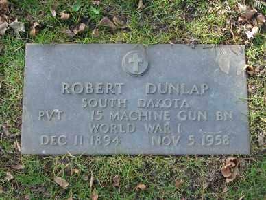 DUNLAP, ROBERT - Minnehaha County, South Dakota | ROBERT DUNLAP - South Dakota Gravestone Photos