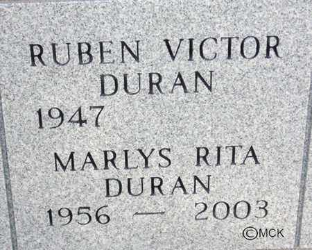 DURAN, RUBEN VICTOR - Minnehaha County, South Dakota | RUBEN VICTOR DURAN - South Dakota Gravestone Photos