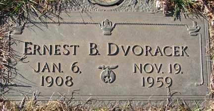 DVORACEK, ERNEST B. - Minnehaha County, South Dakota | ERNEST B. DVORACEK - South Dakota Gravestone Photos