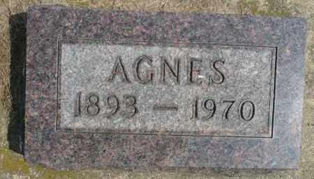 DYBVIG, AGNES - Minnehaha County, South Dakota   AGNES DYBVIG - South Dakota Gravestone Photos