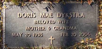 DYKSTRA, DORIS MAE - Minnehaha County, South Dakota | DORIS MAE DYKSTRA - South Dakota Gravestone Photos