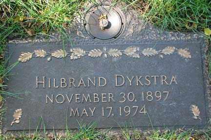DYKSTRA, HILBRAND - Minnehaha County, South Dakota | HILBRAND DYKSTRA - South Dakota Gravestone Photos