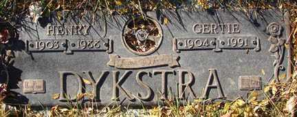 DYKSTRA, GERTIE - Minnehaha County, South Dakota | GERTIE DYKSTRA - South Dakota Gravestone Photos