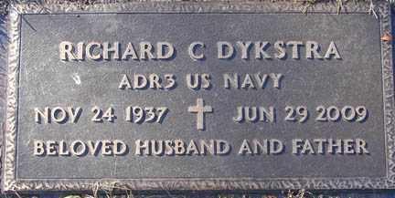 DYKSTRA, RICHARD C. - Minnehaha County, South Dakota | RICHARD C. DYKSTRA - South Dakota Gravestone Photos