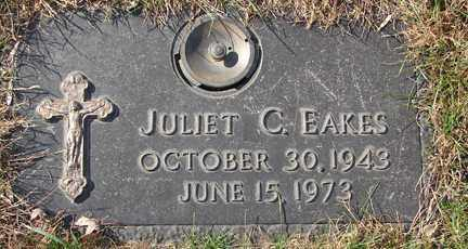 EAKES, JULIET C. - Minnehaha County, South Dakota | JULIET C. EAKES - South Dakota Gravestone Photos