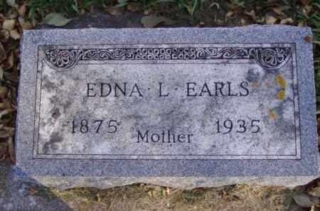 EARLS, EDNA L. - Minnehaha County, South Dakota | EDNA L. EARLS - South Dakota Gravestone Photos