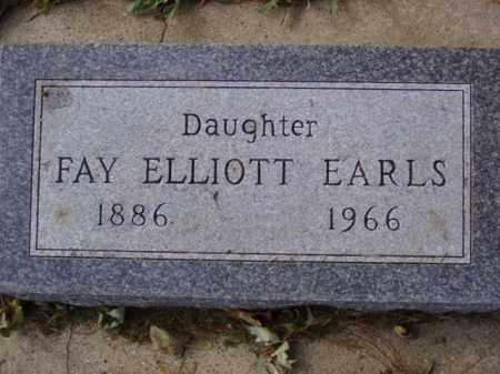 ELLIOTT EARLS, FAY - Minnehaha County, South Dakota   FAY ELLIOTT EARLS - South Dakota Gravestone Photos