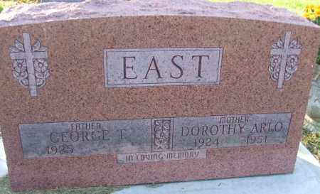 EAST, GEORGE T. - Minnehaha County, South Dakota | GEORGE T. EAST - South Dakota Gravestone Photos