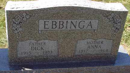 EBBINGA, ANNA - Minnehaha County, South Dakota | ANNA EBBINGA - South Dakota Gravestone Photos