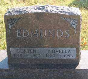 EDMUNDS, BURTEN - Minnehaha County, South Dakota | BURTEN EDMUNDS - South Dakota Gravestone Photos