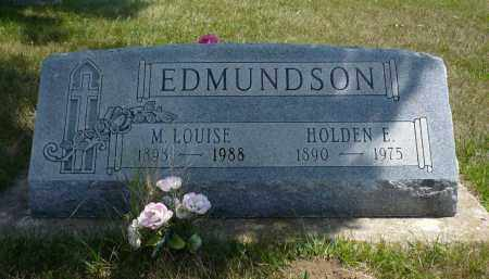 EDMUNDSON, M. LOUISE - Minnehaha County, South Dakota | M. LOUISE EDMUNDSON - South Dakota Gravestone Photos