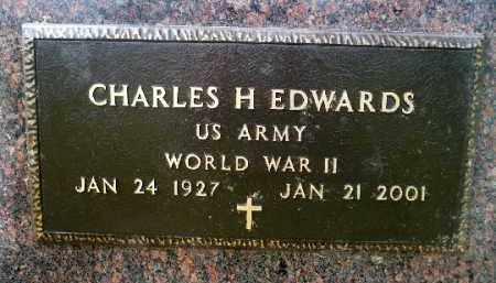 EDWARDS, CHARLES H. JR. (WWII) - Minnehaha County, South Dakota   CHARLES H. JR. (WWII) EDWARDS - South Dakota Gravestone Photos