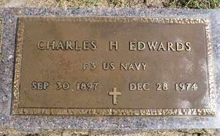 EDWARDS, CHARLES H. - Minnehaha County, South Dakota | CHARLES H. EDWARDS - South Dakota Gravestone Photos