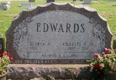 EDWARDS, GLORIA N. - Minnehaha County, South Dakota | GLORIA N. EDWARDS - South Dakota Gravestone Photos