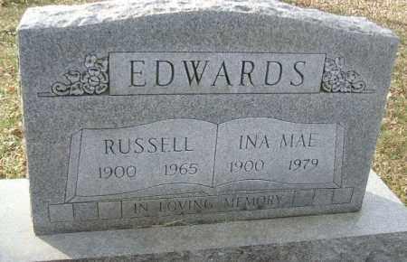 EDWARDS, RUSSELL - Minnehaha County, South Dakota | RUSSELL EDWARDS - South Dakota Gravestone Photos