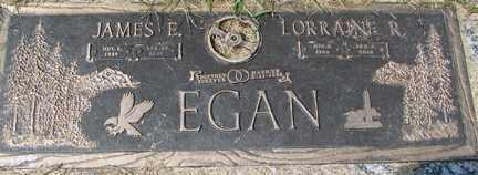 ANDERSON EGAN, LORRAINE R. - Minnehaha County, South Dakota | LORRAINE R. ANDERSON EGAN - South Dakota Gravestone Photos