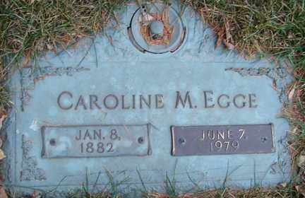EGGE, CAROLINE M. - Minnehaha County, South Dakota | CAROLINE M. EGGE - South Dakota Gravestone Photos