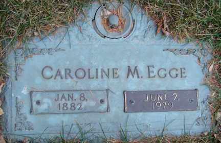 EGGE, CAROLINE M. - Minnehaha County, South Dakota   CAROLINE M. EGGE - South Dakota Gravestone Photos