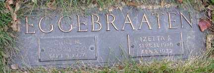 EGGEBRAATEN, IZETTA FERN - Minnehaha County, South Dakota | IZETTA FERN EGGEBRAATEN - South Dakota Gravestone Photos