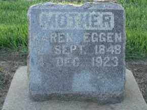 GAUSTAD EGGEN, KAREN - Minnehaha County, South Dakota | KAREN GAUSTAD EGGEN - South Dakota Gravestone Photos