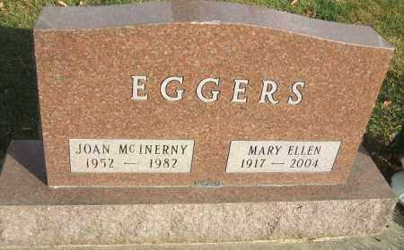 EGGERS, JOAN MCINERY - Minnehaha County, South Dakota | JOAN MCINERY EGGERS - South Dakota Gravestone Photos