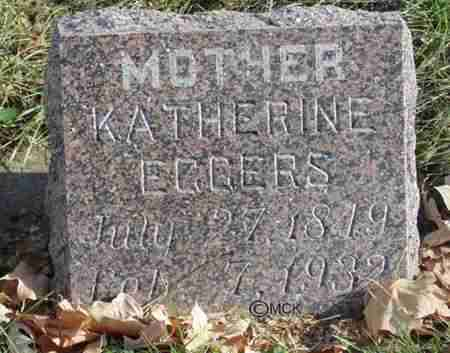 EGGERS, KATHERINE - Minnehaha County, South Dakota | KATHERINE EGGERS - South Dakota Gravestone Photos