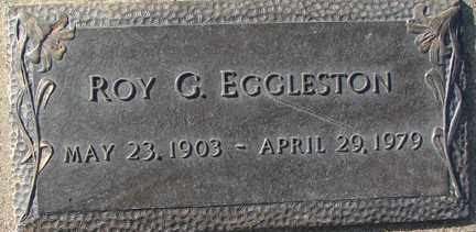 EGGLESTON, ROY G. - Minnehaha County, South Dakota | ROY G. EGGLESTON - South Dakota Gravestone Photos