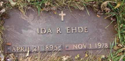 EHDE, IDA R. - Minnehaha County, South Dakota | IDA R. EHDE - South Dakota Gravestone Photos