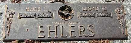 EHLERS, MAVIS I. - Minnehaha County, South Dakota | MAVIS I. EHLERS - South Dakota Gravestone Photos