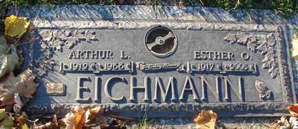EICHMANN, ARTHUR L. - Minnehaha County, South Dakota | ARTHUR L. EICHMANN - South Dakota Gravestone Photos