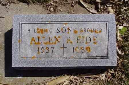EIDE, ALLEN E. - Minnehaha County, South Dakota | ALLEN E. EIDE - South Dakota Gravestone Photos