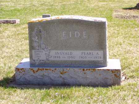 EIDE, INGVALD - Minnehaha County, South Dakota | INGVALD EIDE - South Dakota Gravestone Photos