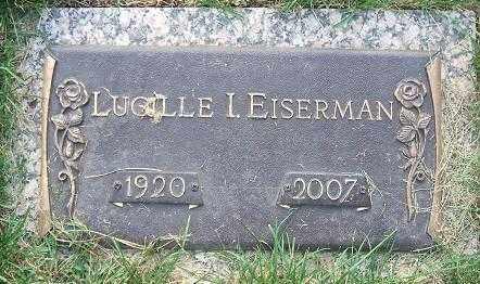 EISERMAN, LUCILLE I. - Minnehaha County, South Dakota | LUCILLE I. EISERMAN - South Dakota Gravestone Photos